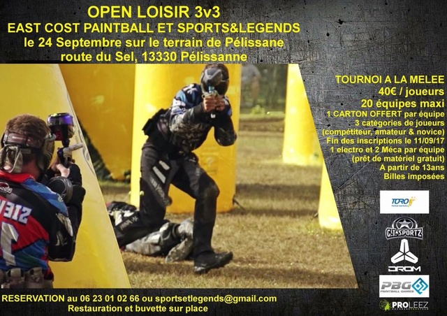 East Cost Paintball Sports & Legends Open (France / 13) Open3v10