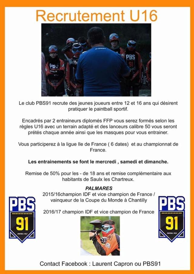 PBS 91 Recrute (France / 91) Pbs91r10