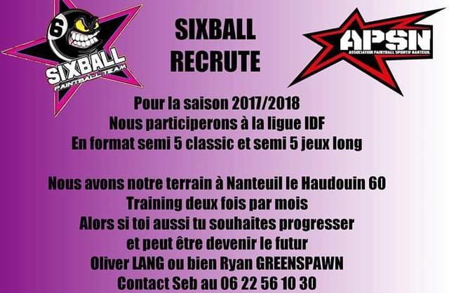 Sixball Recrute (France / 60) Recrut10