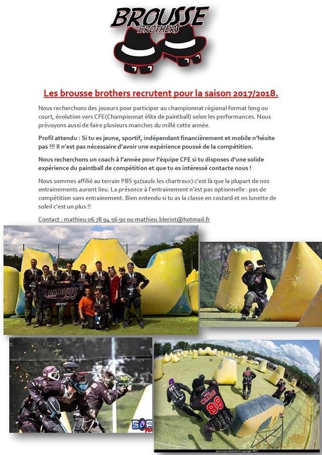Brousse Brothers IDF recrute (France / 91) Recrut15