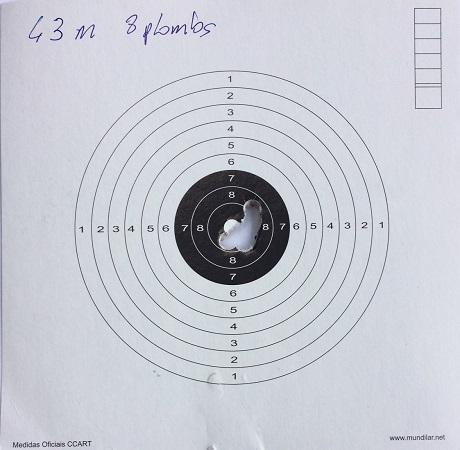 Weihrauch HW100 T FSB .22 à 50m. Euh non, 43 ! Img_3010