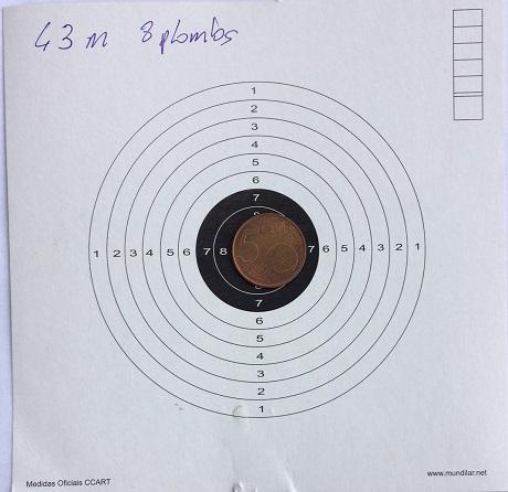 Weihrauch HW100 T FSB .22 à 50m. Euh non, 43 ! Img_3011