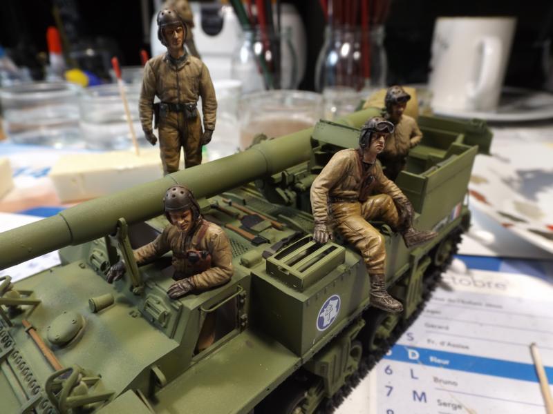 M12 155mm GMC - 3° RAC 1945 K800_211