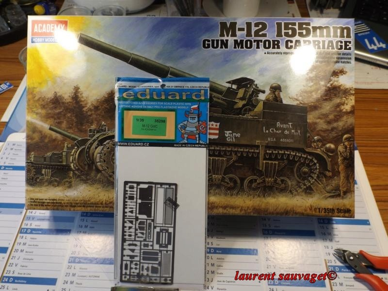 M12 155mm GMC - 3° RAC 1945 K800_t47