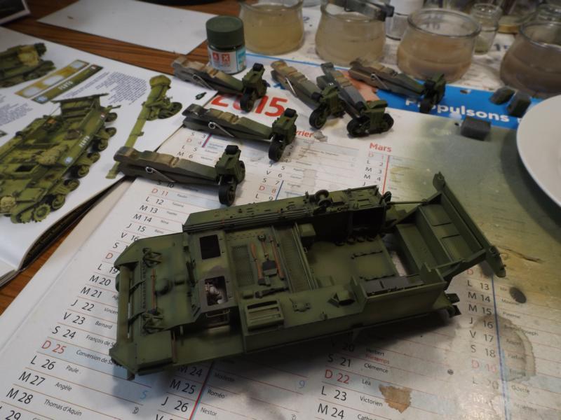 M12 155mm GMC - 3° RAC 1945 K800_t92