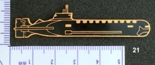 """Insignes et médailles des sous-marins """"Projet 941 Akula""""  - Page 2 Collec36"""