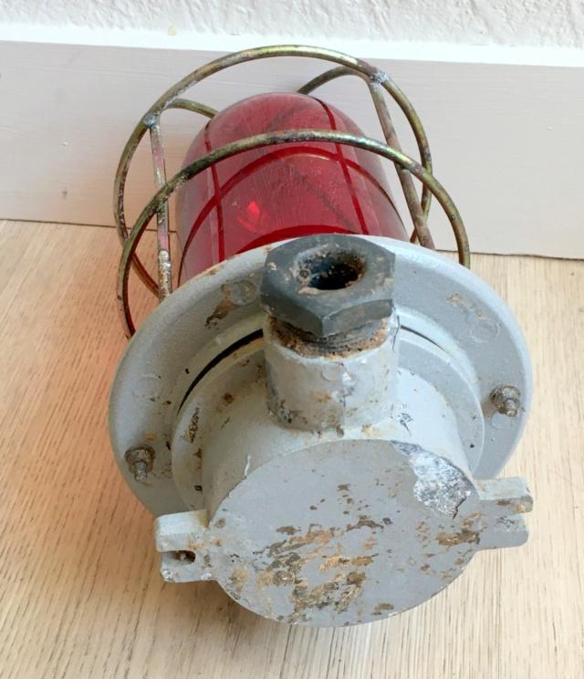 Lampe rouge de navire restaurée Fanal_10
