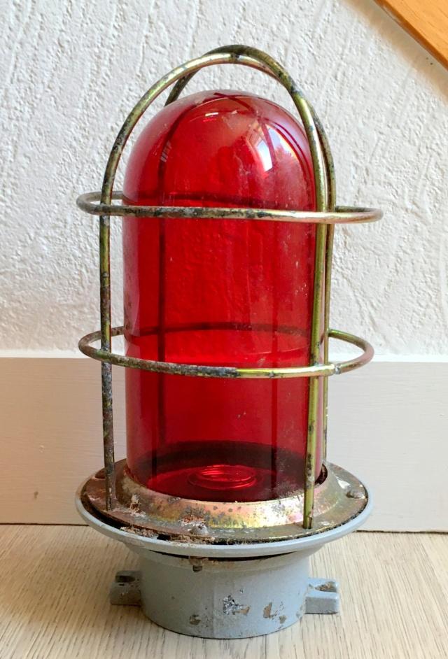 Lampe rouge de navire restaurée Fanal_11
