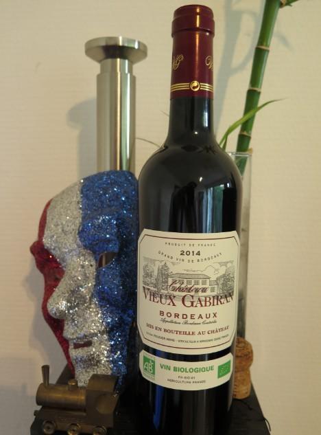 Château Vieux Gabiran 2014  - Bordeaux rouge biologique - #Bio  Bio_ro10