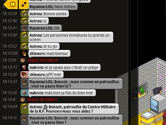 • [C.M] Rapports de patrouilles de Rayanne-LOL • Voili136