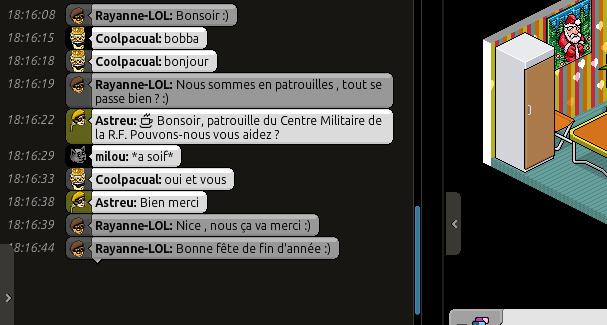 • [C.M] Rapports de patrouilles de Rayanne-LOL • Voili137