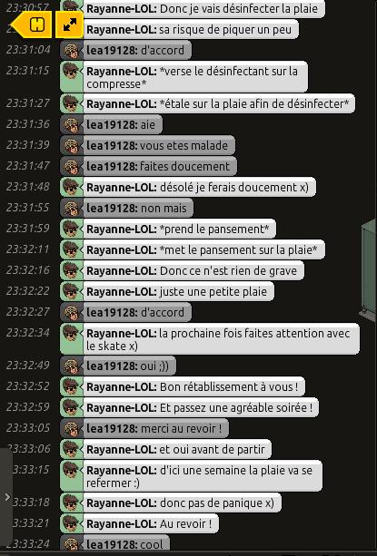 [C.H.U] Rapports d'actions RP de Rayanne-LOL Voili408