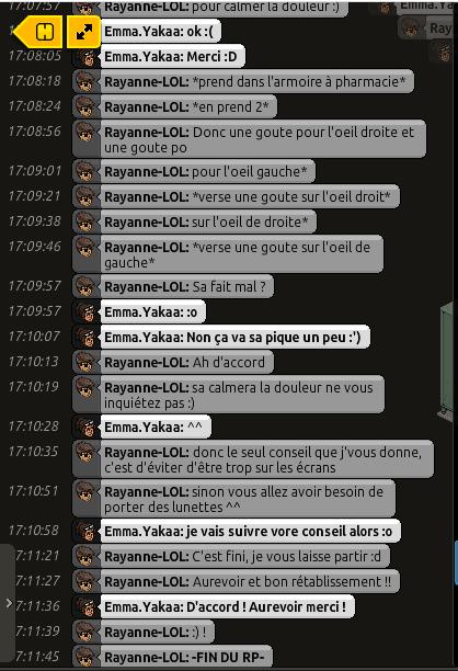 [C.H.U] Rapports d'actions RP de Rayanne-LOL Voili416