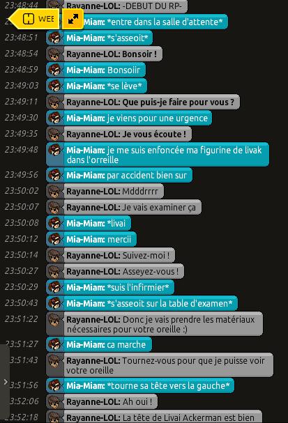 [C.H.U] Rapports d'actions RP de Rayanne-LOL Voili451