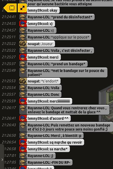 [C.H.U] Rapports d'actions RP de Rayanne-LOL Voilie44