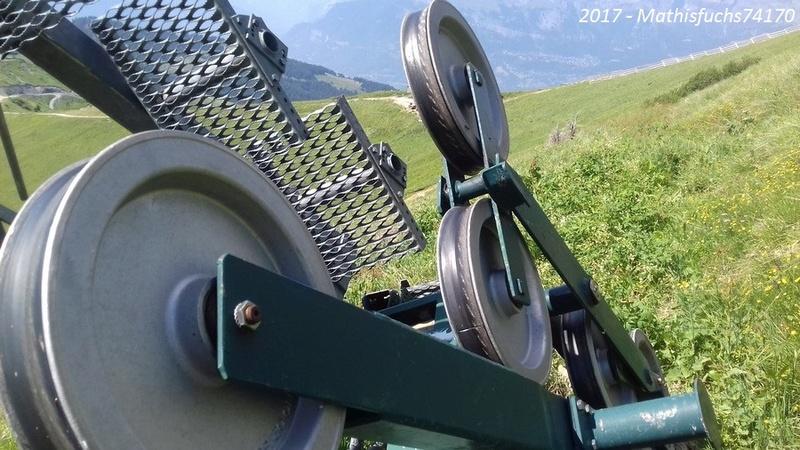 Construction télésiège débrayable 6 places (TSD6) de l'Épaule - Chantiers été 2017 00310