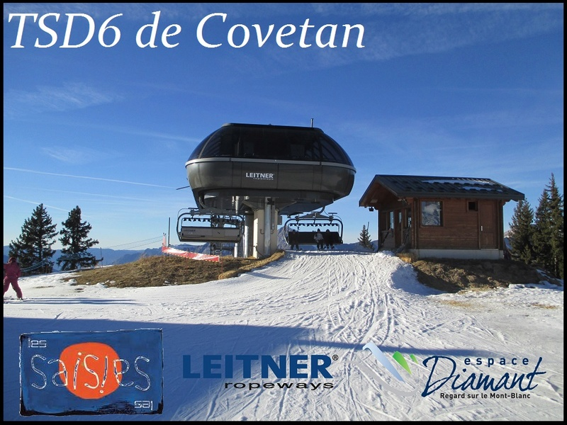 Télésiège débrayable 6 places (TSD6) de Covetan - Les Saisies (Espace Diamant) Bannie10