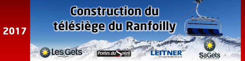 Construction du télésiège débrayable 6 places (TSD6) du Ranfoilly - Les Gets (Portes du Soleil) Banniy10