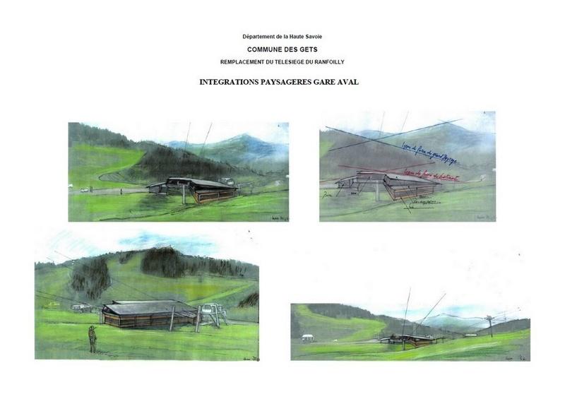 Construction du télésiège débrayable 6 places (TSD6) du Ranfoilly - Les Gets (Portes du Soleil) Visuga10
