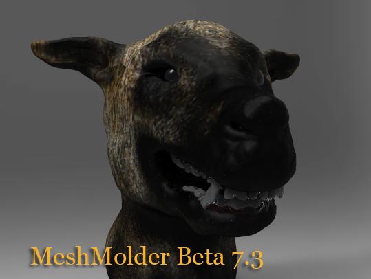 Meshmolder 7.3 - Release Soon Dog10