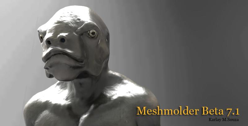 Meshmolder 7.1 - Release Soon Mesh7110