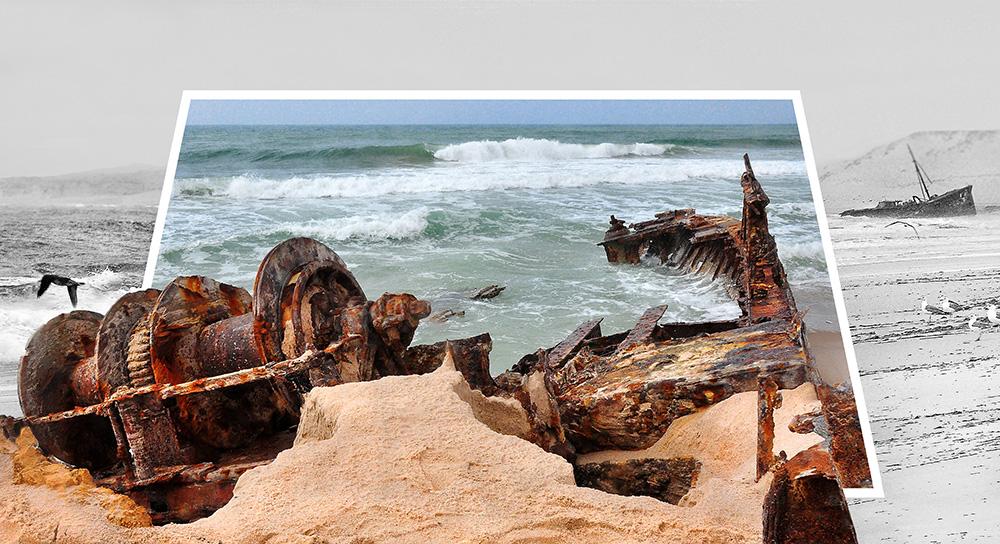 Abandonné sur le sable  Eall11