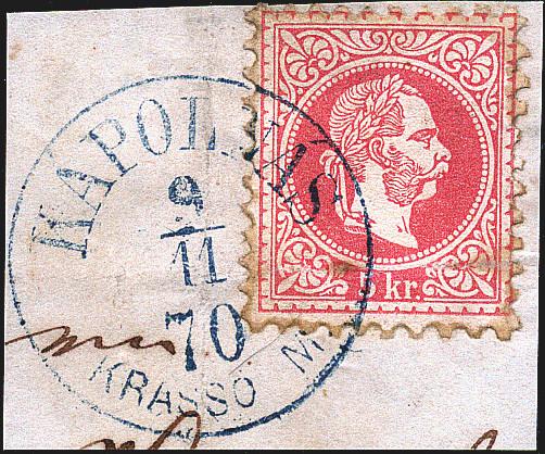 Freimarken-Ausgabe 1867 : Kopfbildnis Kaiser Franz Joseph I - Seite 17 Kapoln11