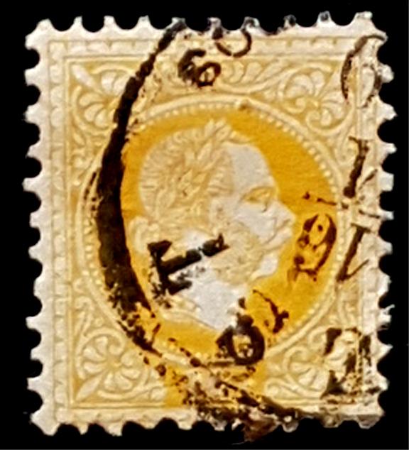 Freimarken-Ausgabe 1867 : Kopfbildnis Kaiser Franz Joseph I - Seite 17 Pest_210