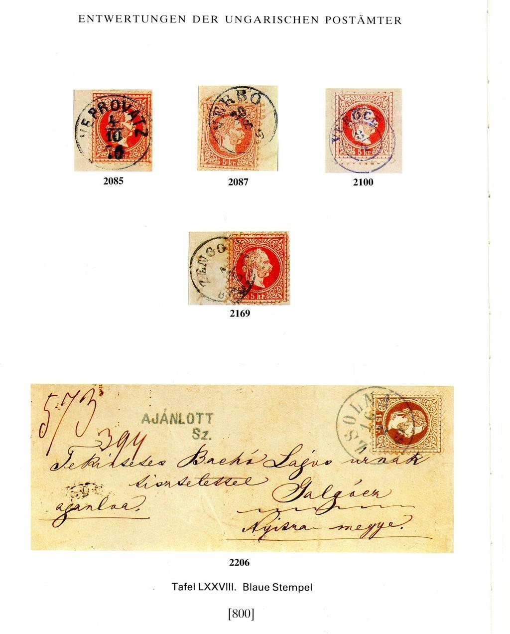 Freimarken-Ausgabe 1867 : Kopfbildnis Kaiser Franz Joseph I - Seite 18 Z01810