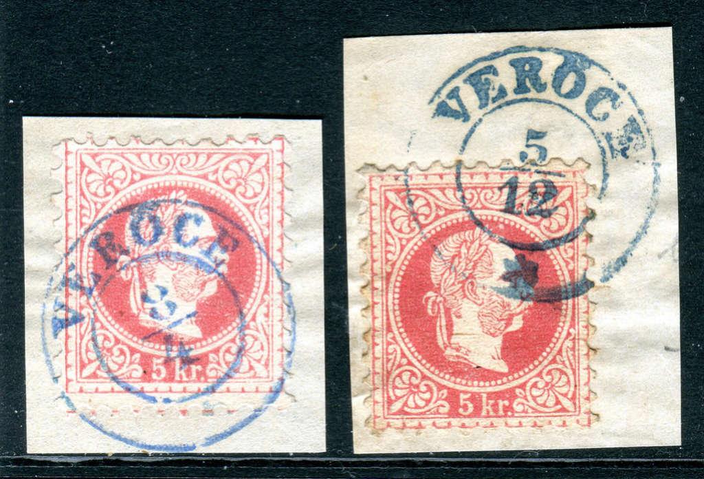 Freimarken-Ausgabe 1867 : Kopfbildnis Kaiser Franz Joseph I - Seite 18 Z02010