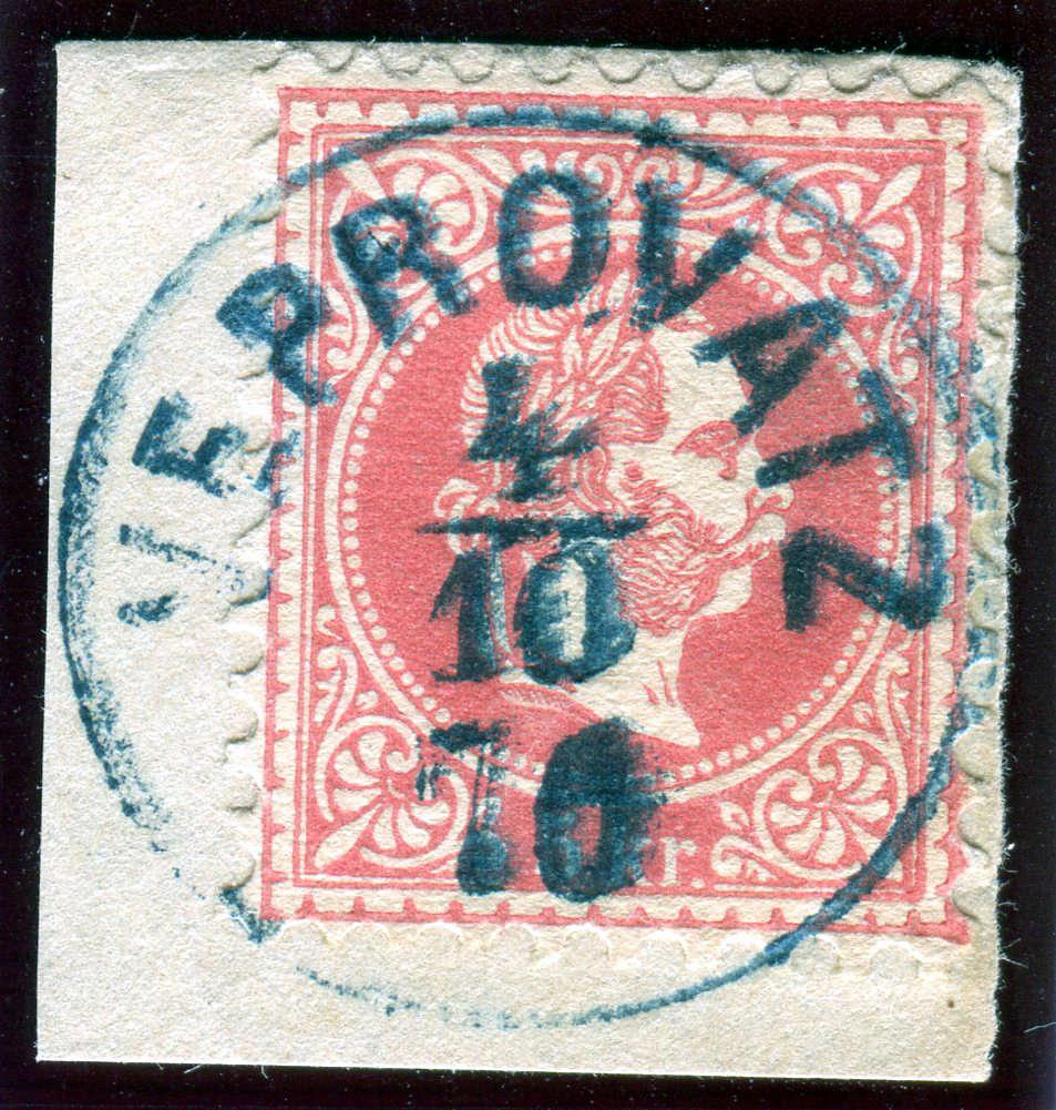 Freimarken-Ausgabe 1867 : Kopfbildnis Kaiser Franz Joseph I - Seite 18 Z02110