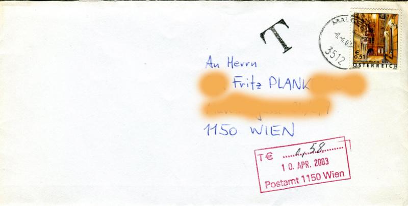 Taxstempel Z05810