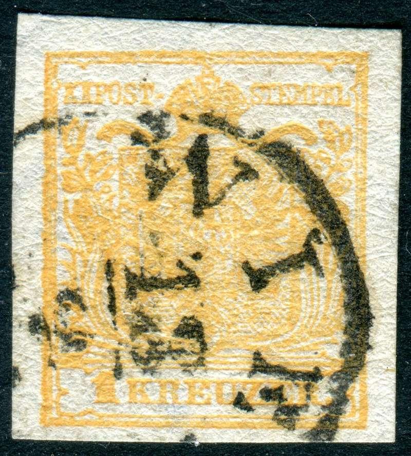 Die erste Österreichische Ausgabe 1850 - Seite 13 Z07110