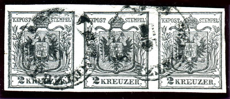 Die erste Österreichische Ausgabe 1850 - Seite 13 Z07910