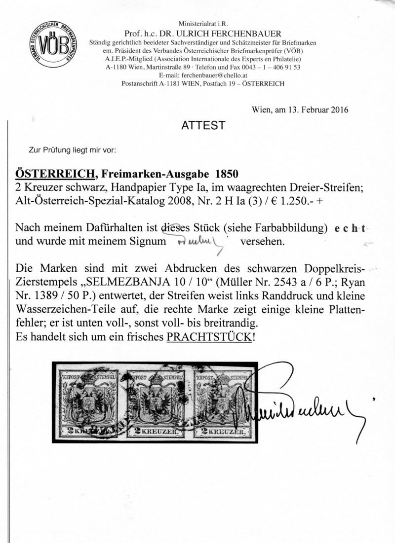 Die erste Österreichische Ausgabe 1850 - Seite 13 Z08010