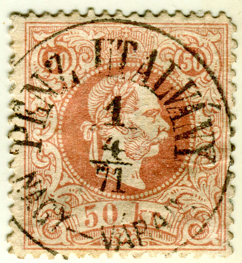 Freimarken-Ausgabe 1867 : Kopfbildnis Kaiser Franz Joseph I - Seite 17 Z08110