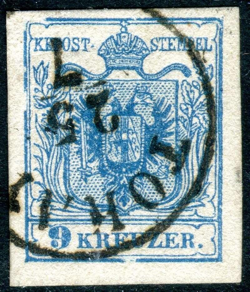 Die erste Österreichische Ausgabe 1850 - Seite 13 Z08210