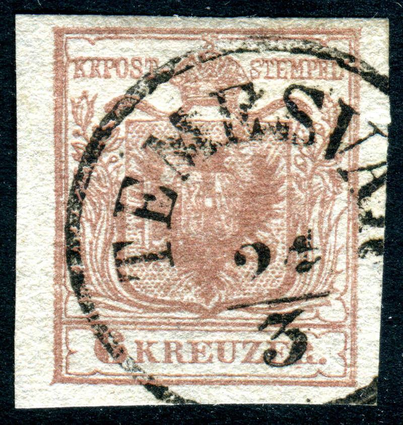 Die erste Österreichische Ausgabe 1850 - Seite 14 Z09010