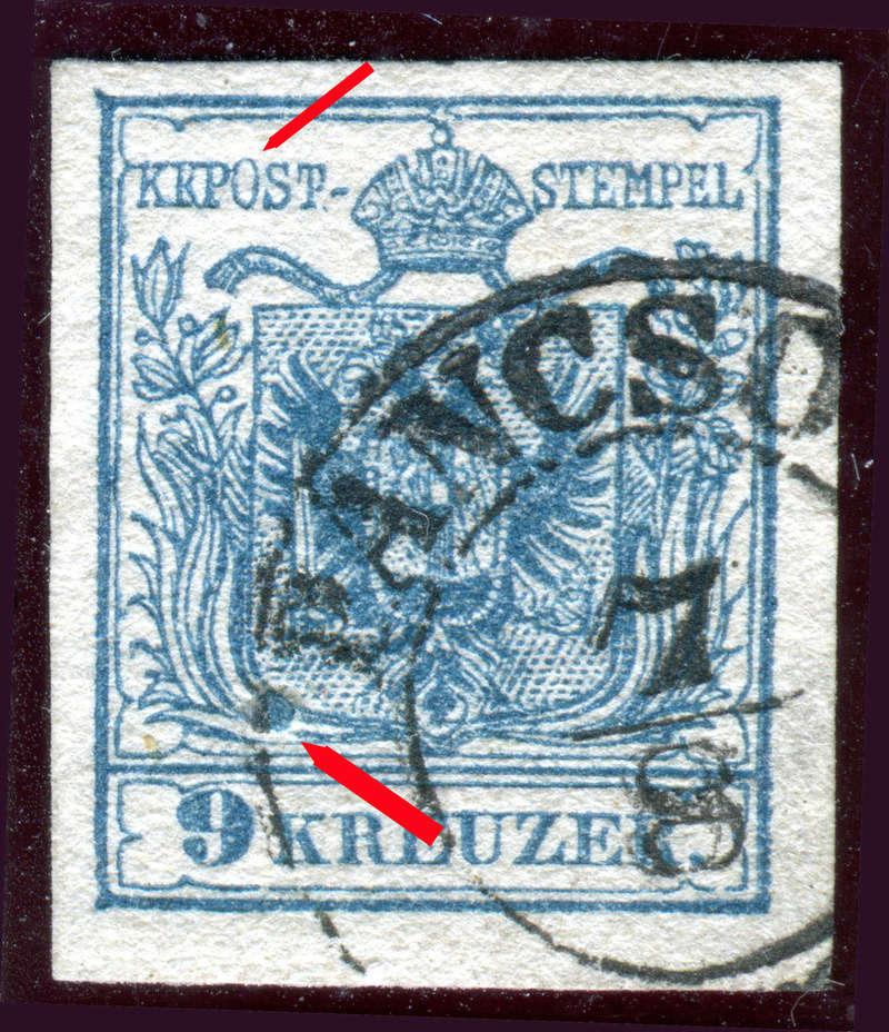Die erste Österreichische Ausgabe 1850 - Seite 14 Z09311