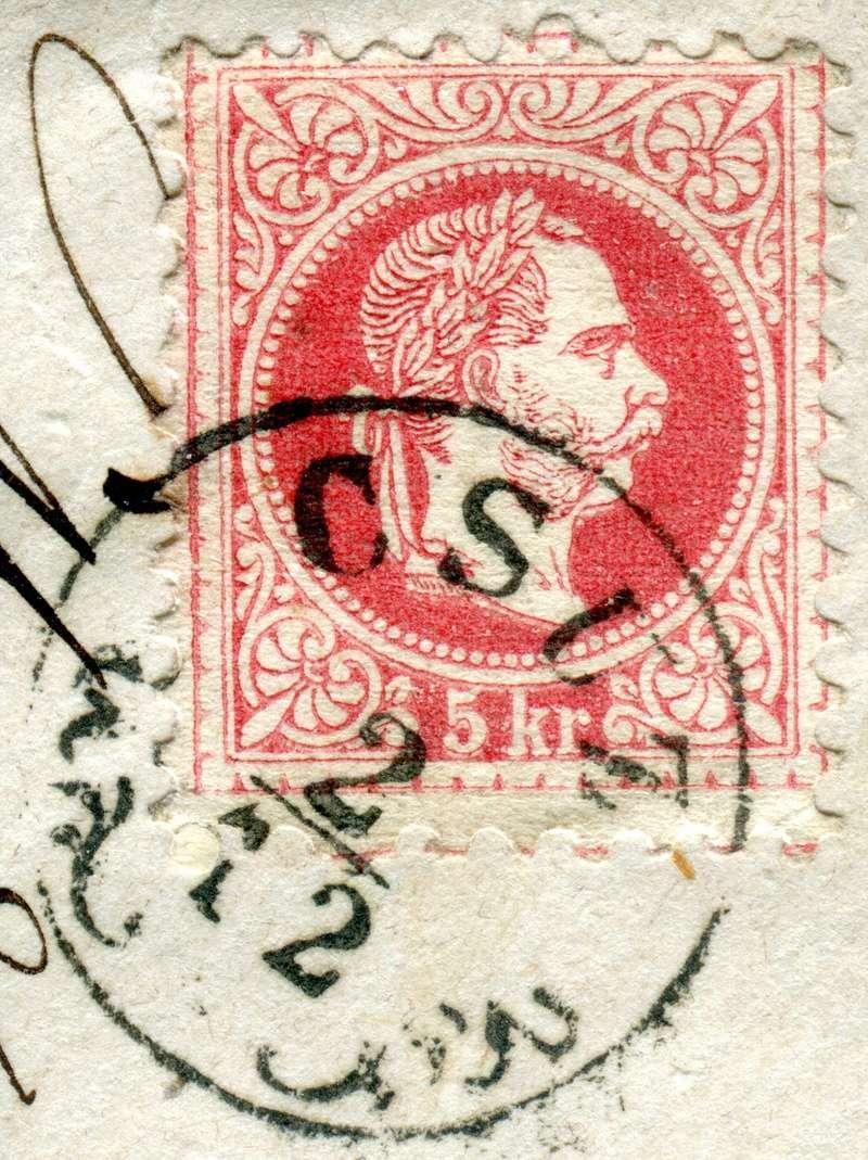 Freimarken-Ausgabe 1867 : Kopfbildnis Kaiser Franz Joseph I - Seite 17 Z10710