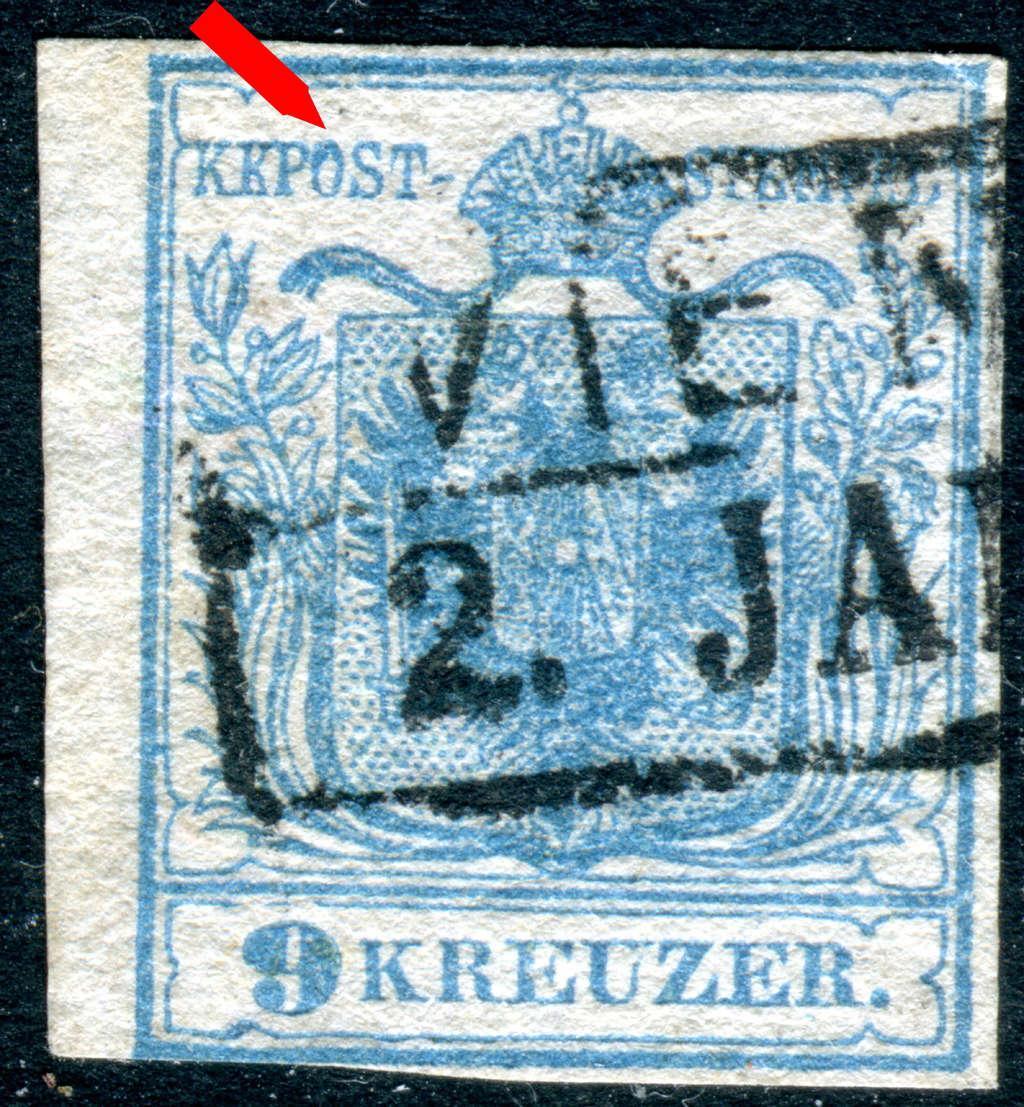 Die erste Österreichische Ausgabe 1850 - Seite 14 Z122x11