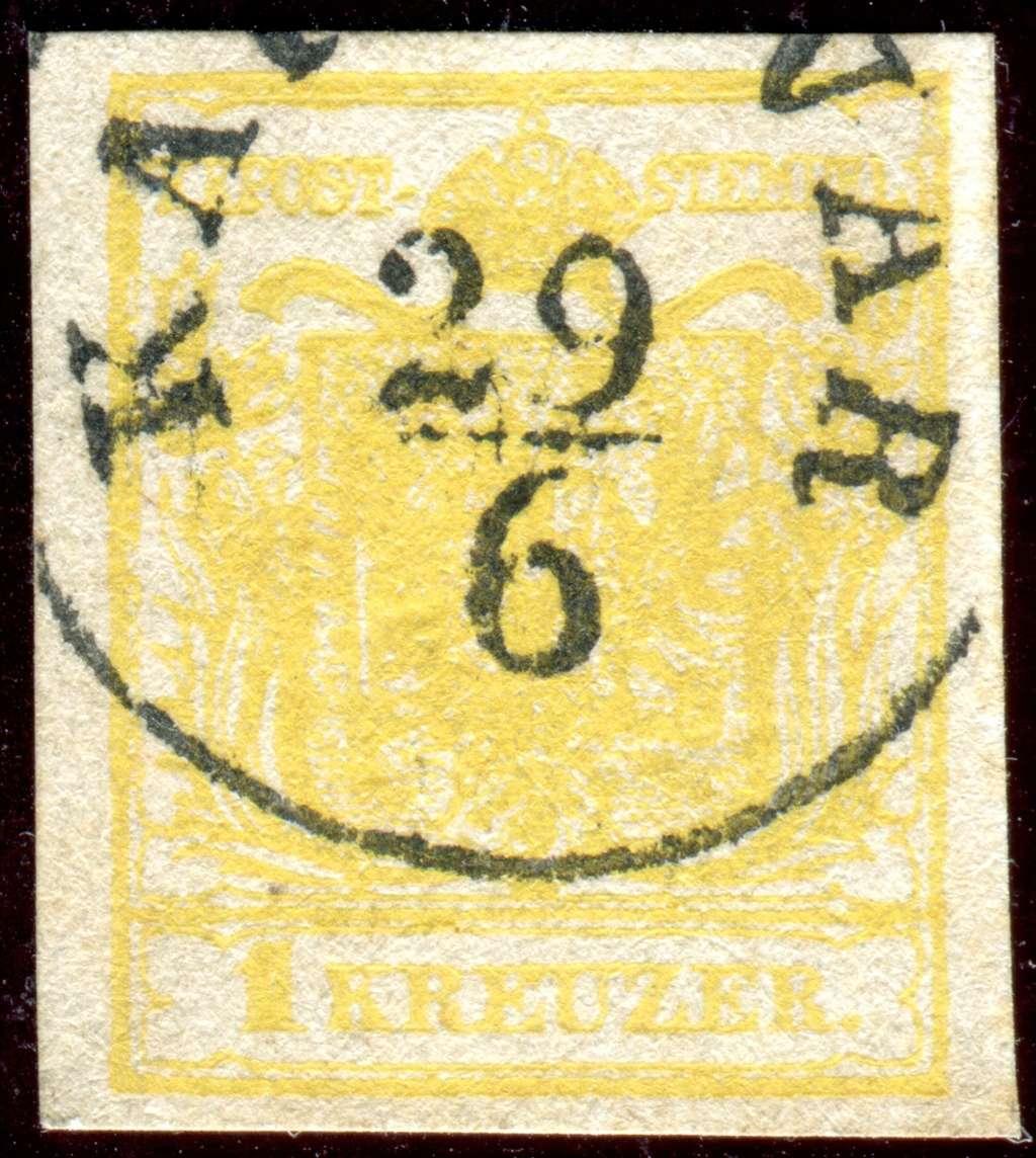 Die erste Österreichische Ausgabe 1850 - Seite 14 Z12310