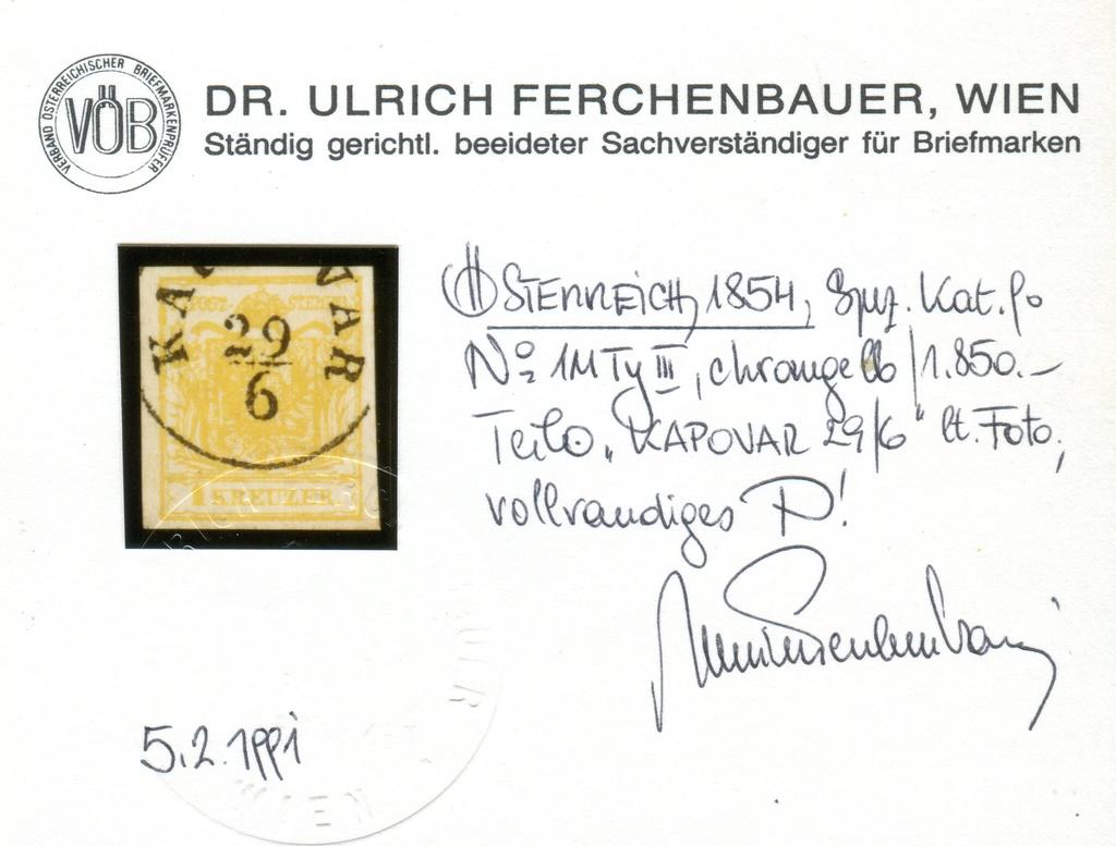 Die erste Österreichische Ausgabe 1850 - Seite 14 Z12410