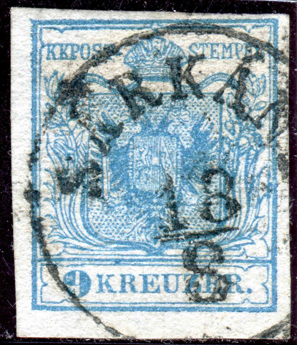 Die erste Österreichische Ausgabe 1850 - Seite 14 Z13110