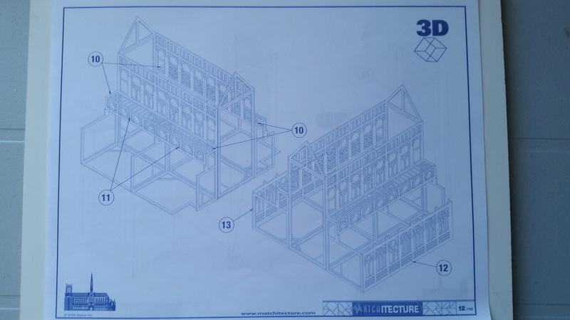 Matchitecture: Cathédrale Notre-Dame-de-Paris Plan_114