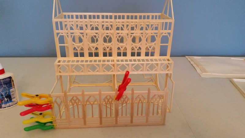 Matchitecture: Cathédrale Notre-Dame-de-Paris Plan_115