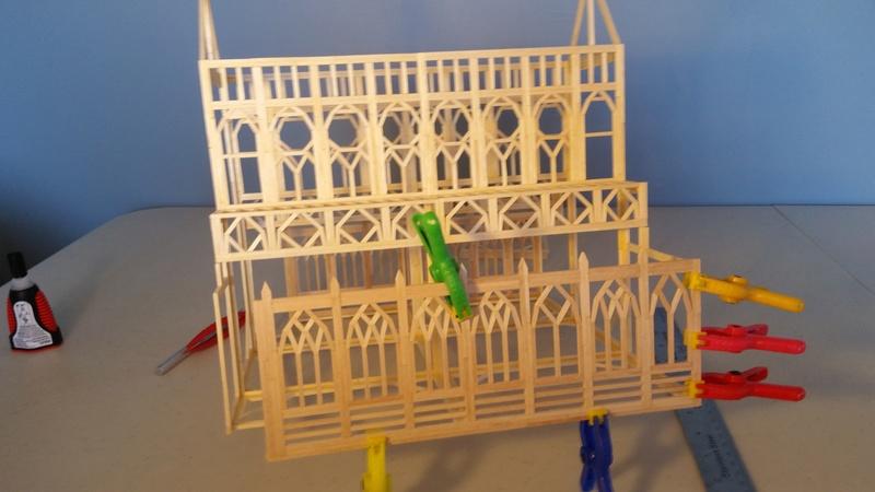 Matchitecture: Cathédrale Notre-Dame-de-Paris Plan_116