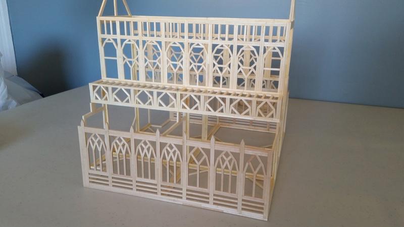 Matchitecture: Cathédrale Notre-Dame-de-Paris Plan_117