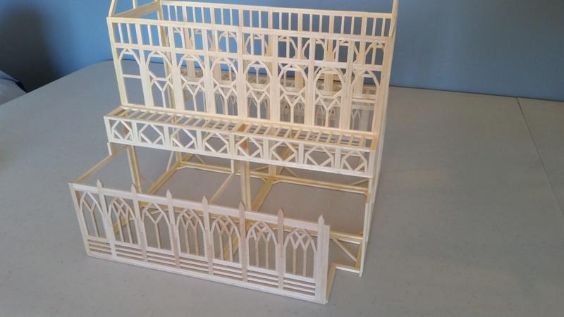 Matchitecture: Cathédrale Notre-Dame-de-Paris Plan_118