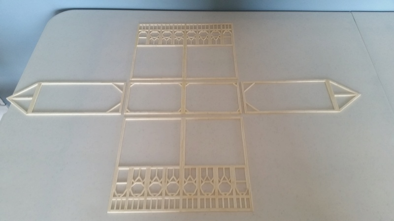 Matchitecture: Cathédrale Notre-Dame-de-Paris Plan_510
